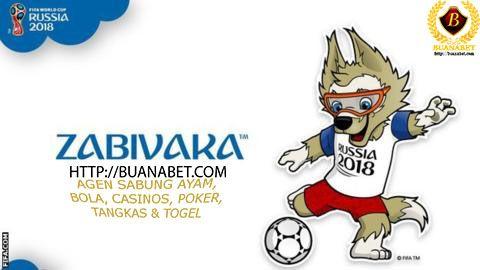 BUANABET: Serigala terpilih sebagai Piala Dunia FIFA 2018 Re...