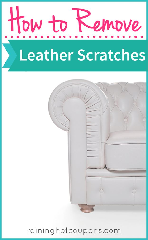 how to remove leather scratches. Black Bedroom Furniture Sets. Home Design Ideas
