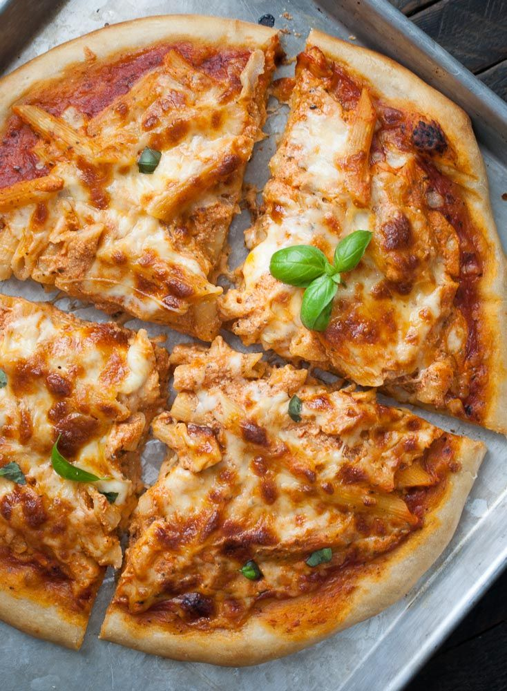Oh yes I did. I put pasta on pizza. And not just any pasta. I put baked ziti on pizza. I mean, can life get any better than that? When I was in college (University of Michigan), there was a pizza place called NYPD. They had a baked ziti pizza that was/is my favorite pizza...Read More