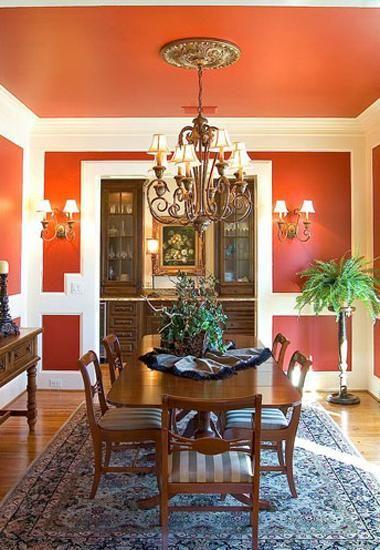 1000 Ideas About Orange Paint Colors On Pinterest
