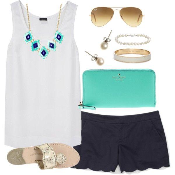 Blues, created by classically-preppy on Polyvore