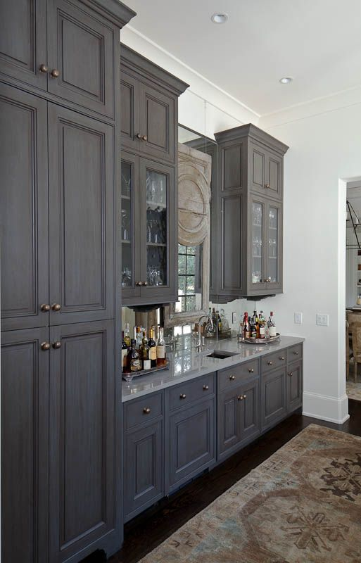 Superb An Atlanta European Classic Painted Gray Bar. ARCHITECT: Harrison Design  Associates. DESIGNER: Harrison DesignCabinet CompaniesDream ...