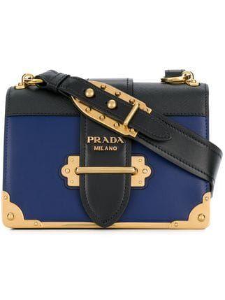 Prada Cahier Shoulder Bag - Farfetch   HANDBAGS   Pinterest ... adca046521