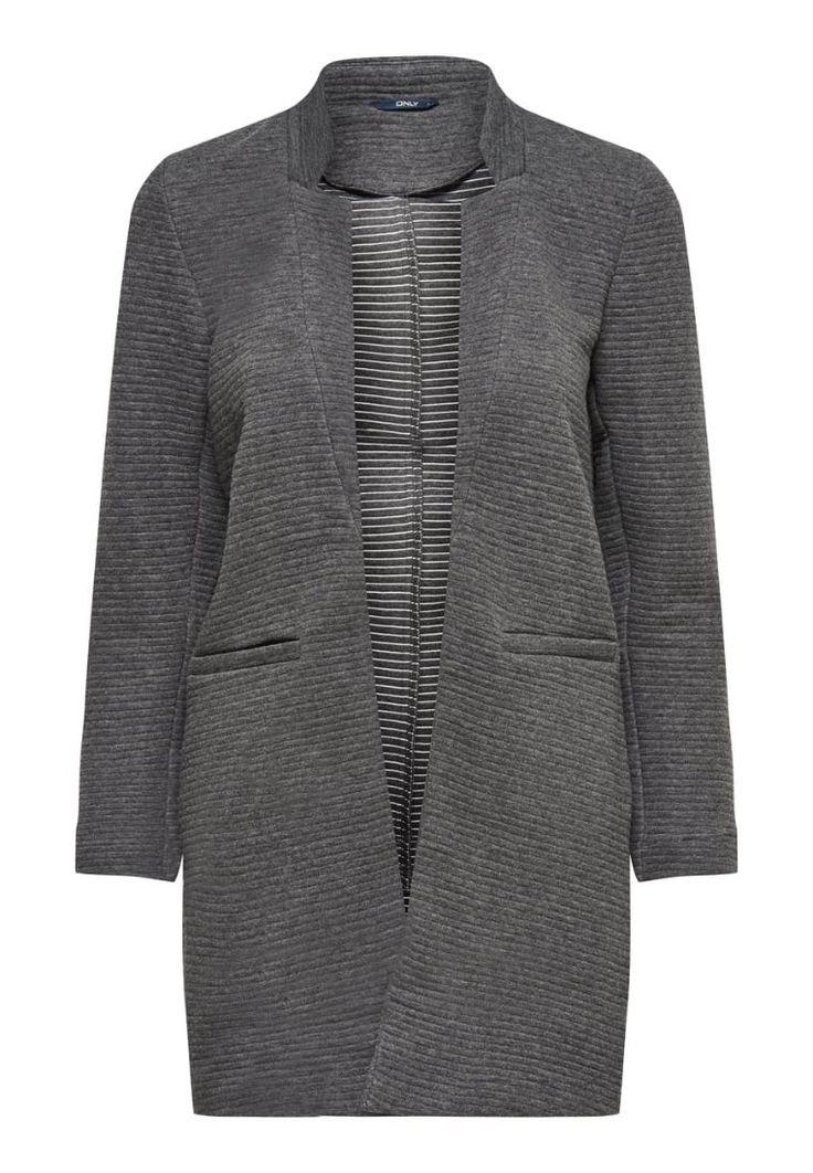 ONLY Blazer dark grey melange Bekleidung bei Zalando.de   Material Oberstoff: 90% Baumwolle, 10% Polyester   Bekleidung jetzt versandkostenfrei bei Zalando.de bestellen!