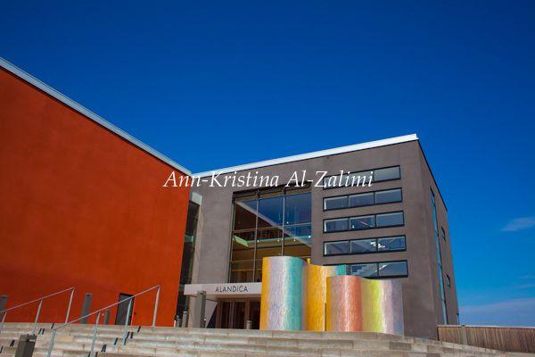 Ann-Kristina Al-Zalimi, åland, mariehamn, alandia, alandia congress and culture center, maarianhamina, ahvenanmaa, architecture, aland islands, skandinavia