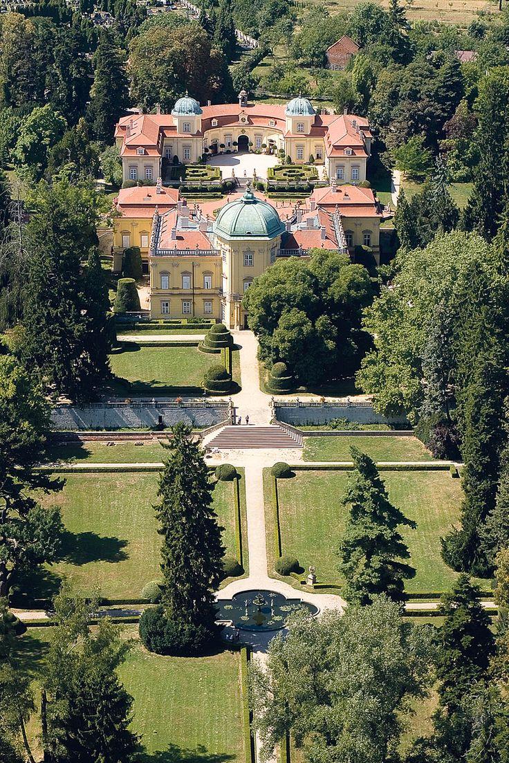 zámek Buchlovice, ve stylu italského baroka, Czech