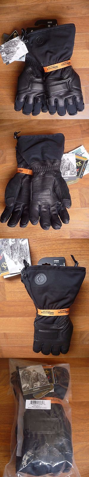 """Women 21241: Black Diamond Guide Gloves - Men'S Pro Series - Fits """"Med"""" - New 2016/17 W/Tags BUY IT NOW ONLY: $139.5"""