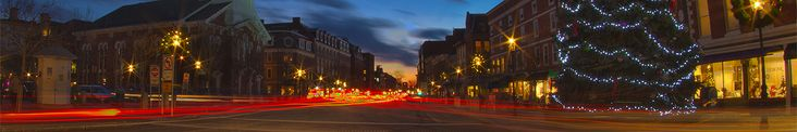 Guide to downtown Portsmouth, NH - restaurants, stores, lodging and more.