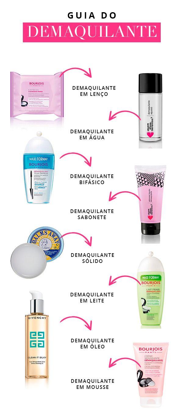 O uso de demaquilante faz de sua pele, saudável