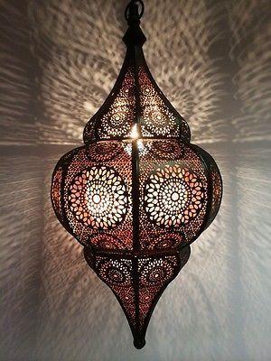 Orientalische Marokkanische Arabische Hängeleuchte Deckenlampe Lampe Laterne NEU