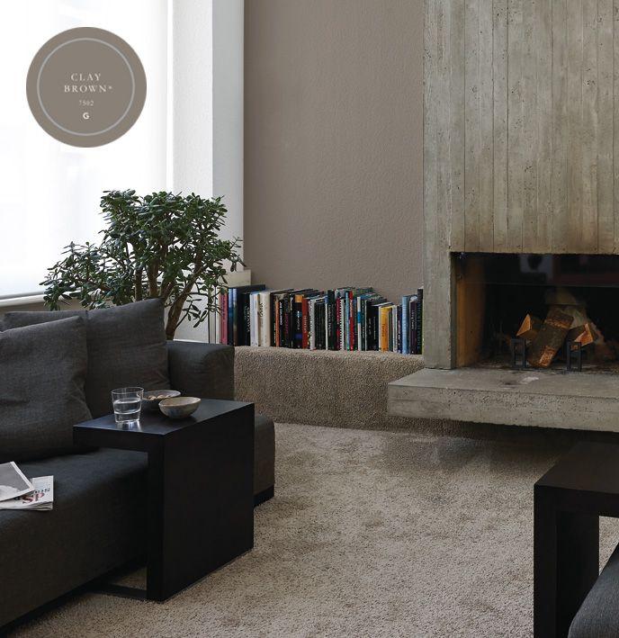 17 beste afbeeldingen over kleur taupe interieur taupe interior op pinterest verfkleuren - Kleur grijze taupe ...