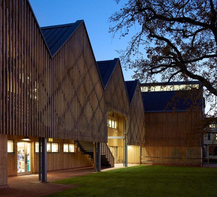 Budova školy umění a designu Bedales © Hufton + Crow
