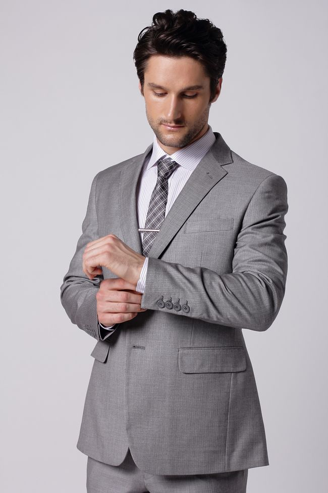 The Cool Gray Suit | [Matthewaperry.com]Men Suits | Pinterest