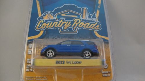 GREENLIGHT SE 1:64 COUNTRY ROADS 2013 FORD EXPLORER LIMITED EDITION SERIES 11