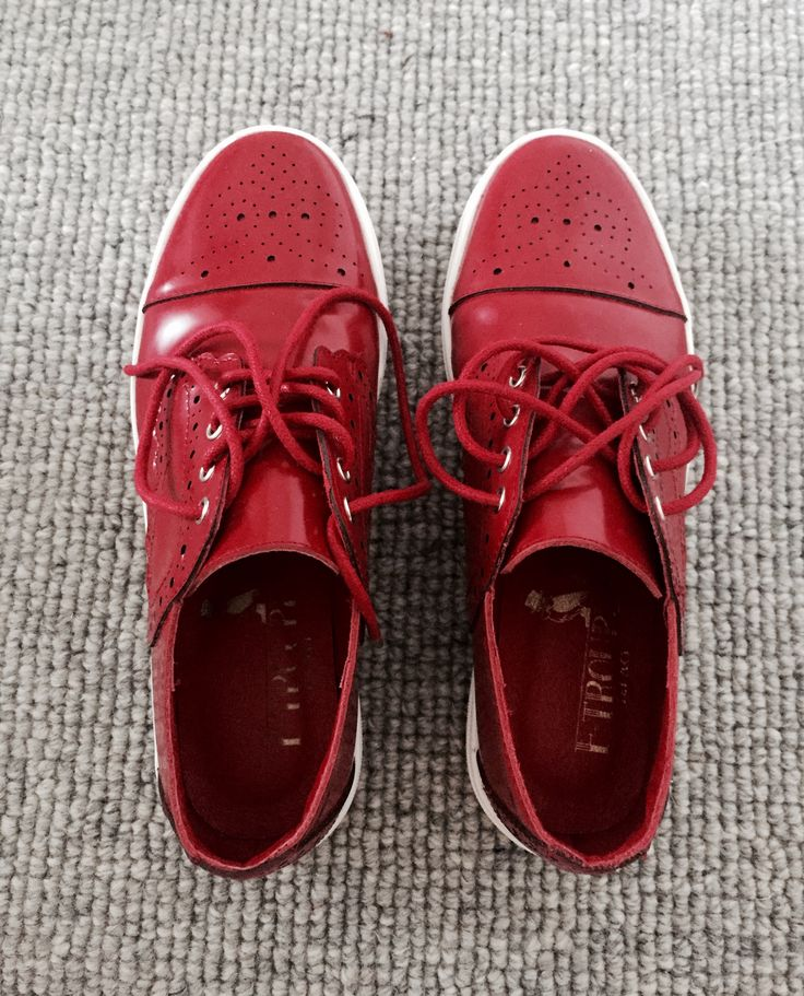 My little red shoes