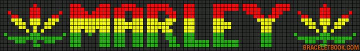 Alpha Friendship Bracelet Pattern #13253 - BraceletBook.com