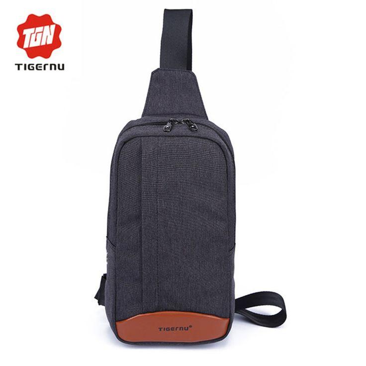 2017 Tigernu Men Women Messenger Bags Body Shoulder Chest Bags Casual Outdoor summer Business Leisure Crossbody Bags For Men's
