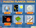 """Juego Educativo """"Nuestro planeta tierra"""". IDEAL PARA NIÑOS A PARTIR DE 8 AÑOS. #docentes #juegos #profesores ► http://www.seclen.com/iniciar_juego.php?id_juego=121"""