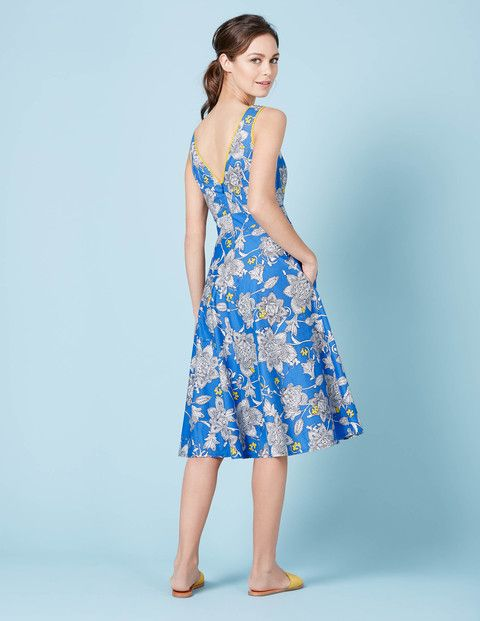 Rose Dress WW035 Smart Day Dresses at Boden