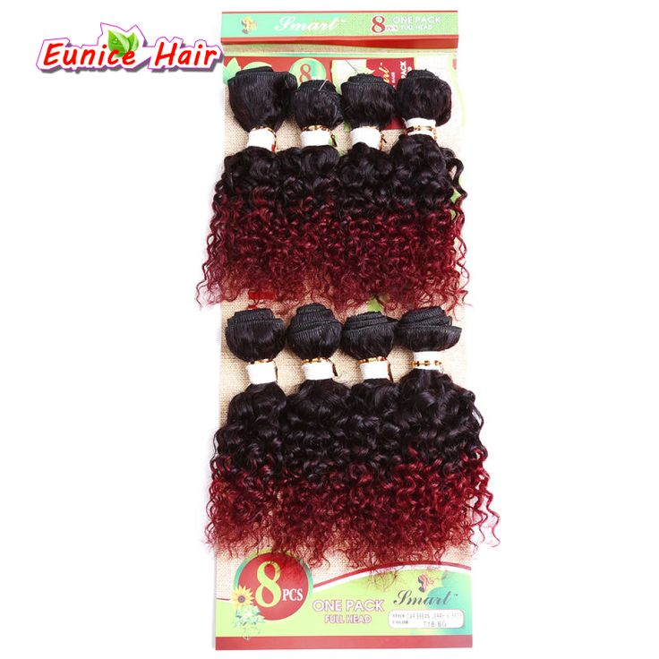 Unprocessed virgin brazilian hair bundles Cheap 8pcs/lot afro kinky human curly hair extension kinky curly weave hair bundles #Affiliate