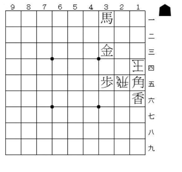 """伊藤果さんのツイート: """"No.710: 今週の詰将棋です。持駒はナシです。3手詰?いやいや慎重に…慎重にですよ。難易度は入門~初級の間あたりでしょうか。…"""