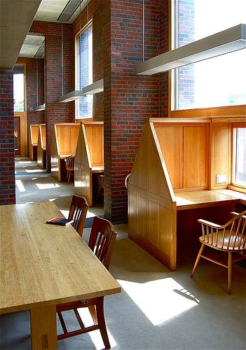 Philip Exeter's library by Louis Kahn