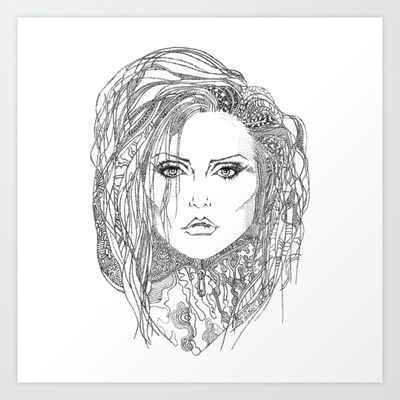 Deborah (Debbie) Harry of Blondie Art Print by Francesco Carli - $16.64