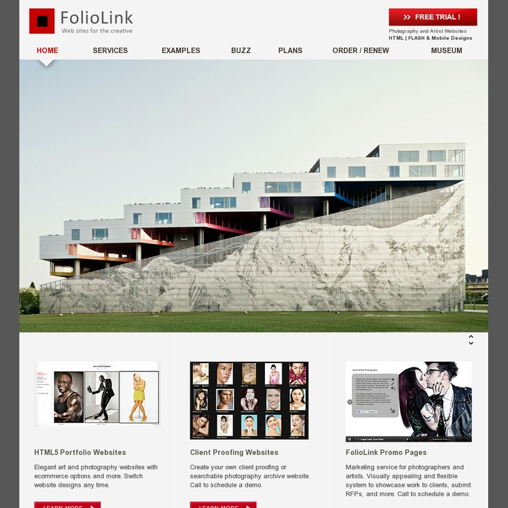 """""""Foliolink is an online portfolio-building tool specifically for photographers and artists who want to build professional portfolios and sell their work online effortlessly"""" (From: http://www.ipixel.com.sg/blog/web-design/photographers-top-10-sites-to-showcase-your-work/) - http://www.foliolink.com/"""