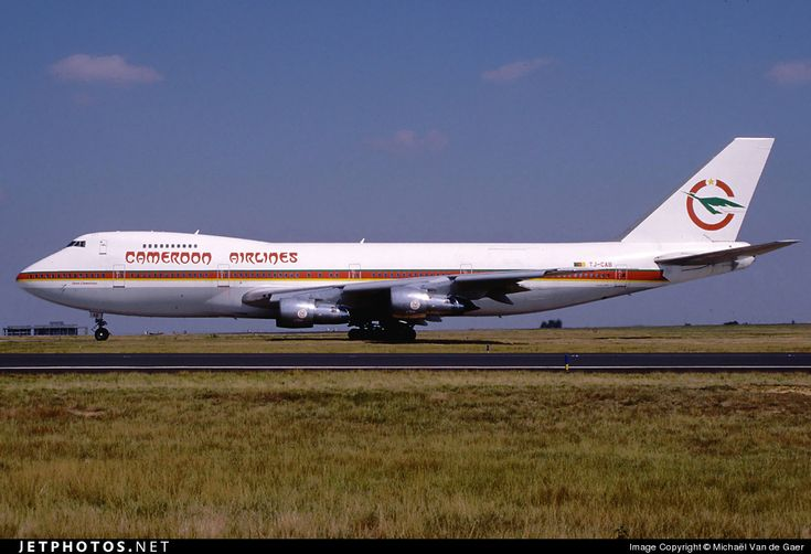 Photo of TJ-CAB - Boeing 747-2H7B - Cameroon Airlines