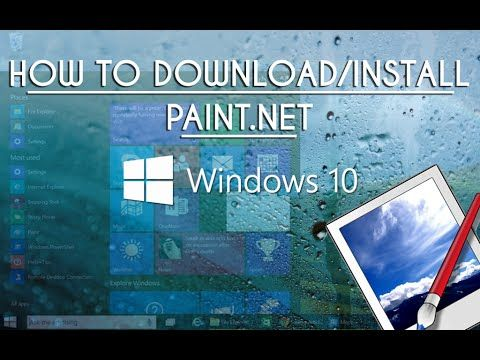 How To Download/Install Paint.net To Windows10 Tutorial