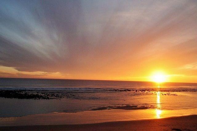 Atardecer en Sajorami Beach
