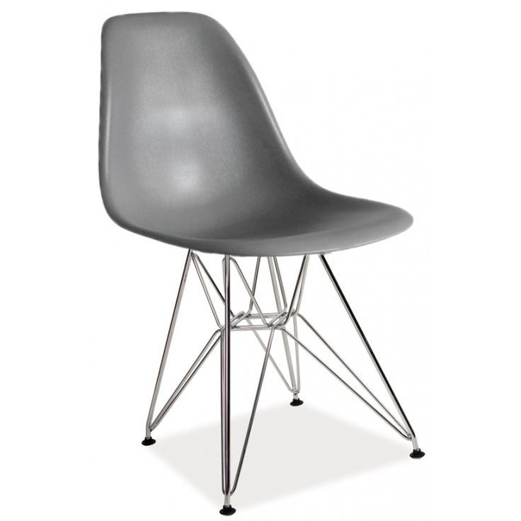 Jídelní židle LESI šedá