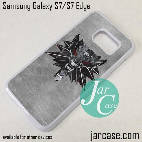 The Witcher Game Logo Phone Case for Samsung Galaxy S7 & S7 Edge