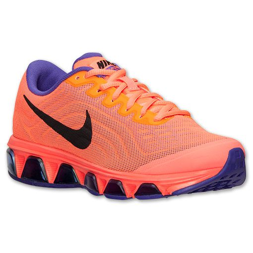 wholesale dealer af6f3 2a699 ... Womens Nike Air Max Tailwind 6 Running Shoes Finish Line Bright  MangoBlack ...