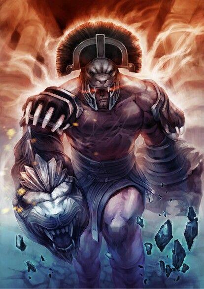 Hercules dios de la guerra