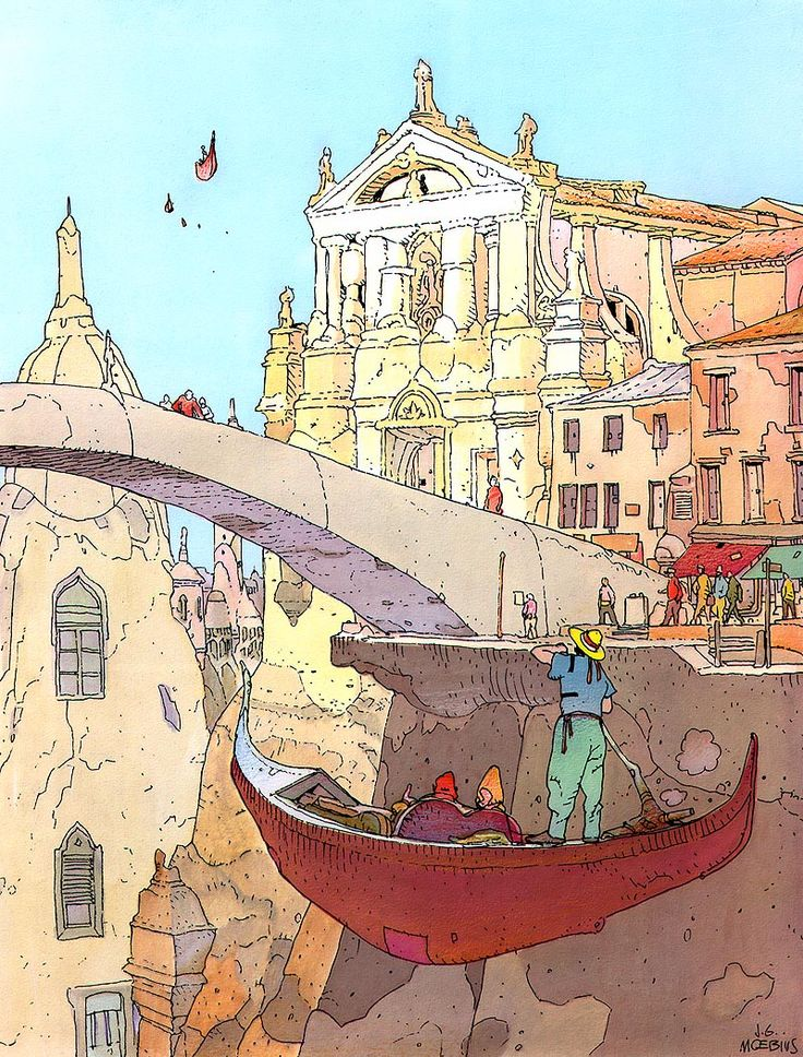 Google Image Result for http://2.bp.blogspot.com/-LSjdqiDW0Zs/T1uBDydyjeI/AAAAAAAAGqM/GdfdJcAld5Q/s1600/al_Moebius001_Venise_Celeste.jpg