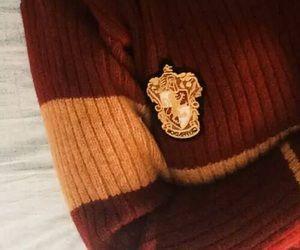 Gryffindor sweater; Aurora English