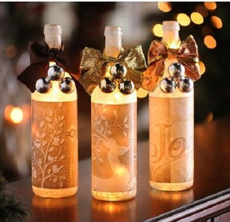 25 best ideas about indoor christmas lights on pinterest for Wine bottle light ideas