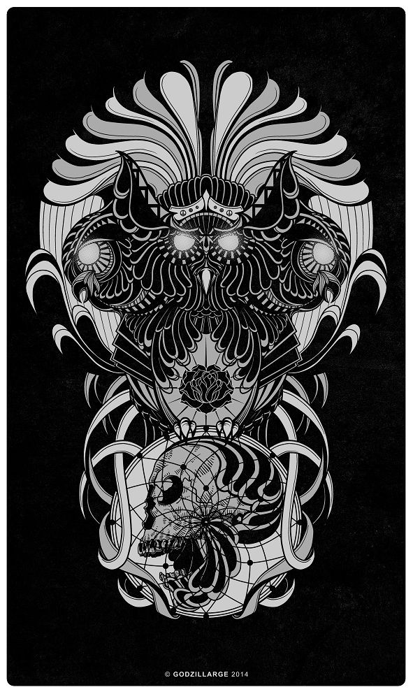 TRIMURTI. buy here: http://www.designbyhumans.com/shop/t-shirt/trimurti/97744/