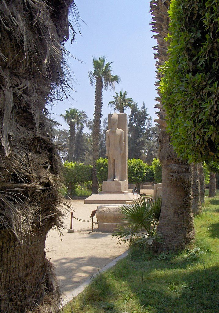 Statue of Ramses II - Memphis, Egypt