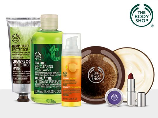 $10 for $20 of The Body Shop Products!