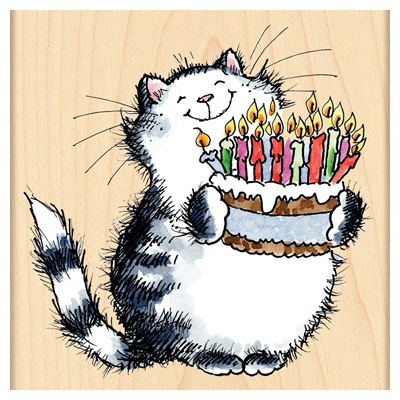 Happy Birthday Cat Clip Art Free