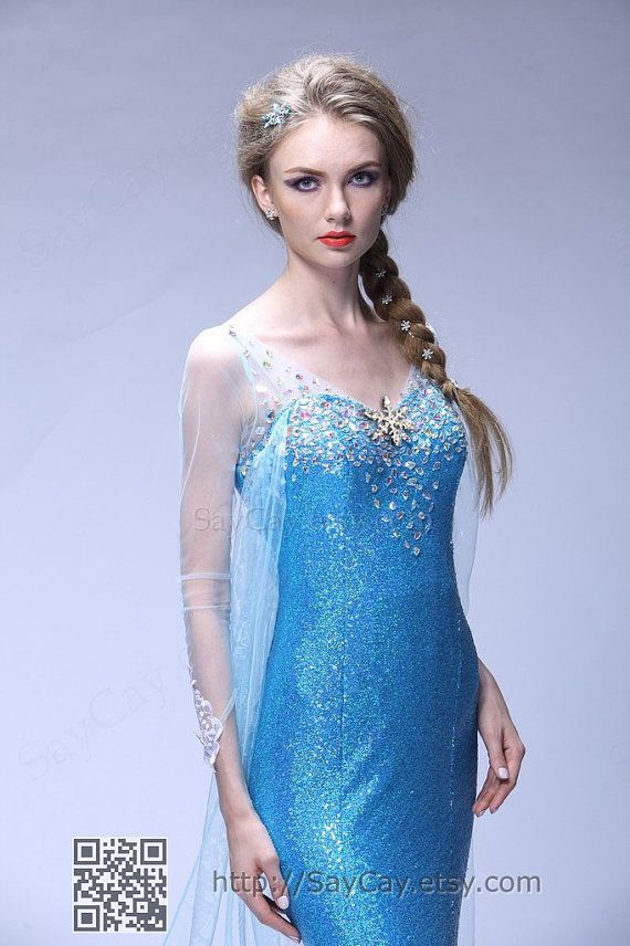 Elsa Costume adult Frozen Costume disney princess costumes frozen birthday clothing on Etsy, $139.00