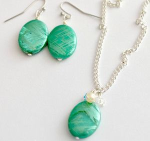 Treasures of the Ocean Jewelry Set | AllFreeJewelryMaking.com