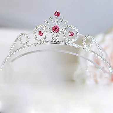 Gorgeous Rhinestone Flower Girl Tiara/ Headpiece – USD $ 19.99