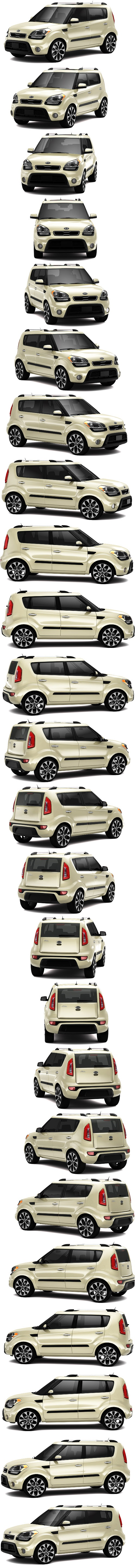 Kia Soul 6 speed manual tranny and vanilla milk shake colour!