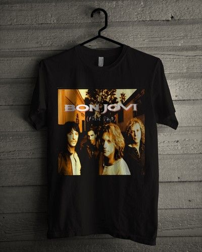 Kaos Bon Jovi - These Days - BikinKaosSatuan