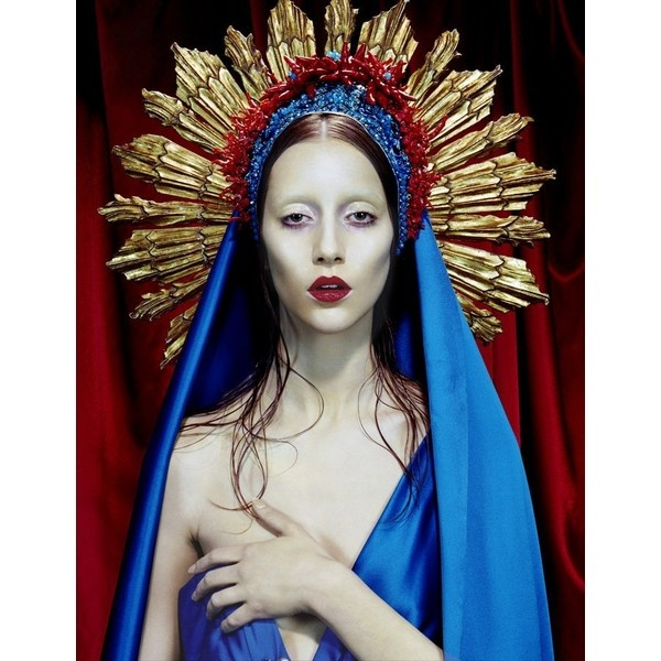 Immaculate Conception Chic by Jean Paul Gaultier 2007 Haute Couture Collection~Beautiful...