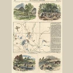 Australian Gold Rush c1852.