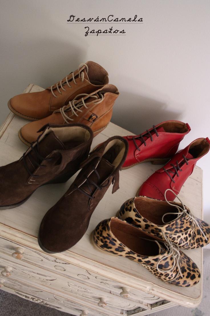 Zapatos by DesvánCanela en  www.facebook.com/desvancanela